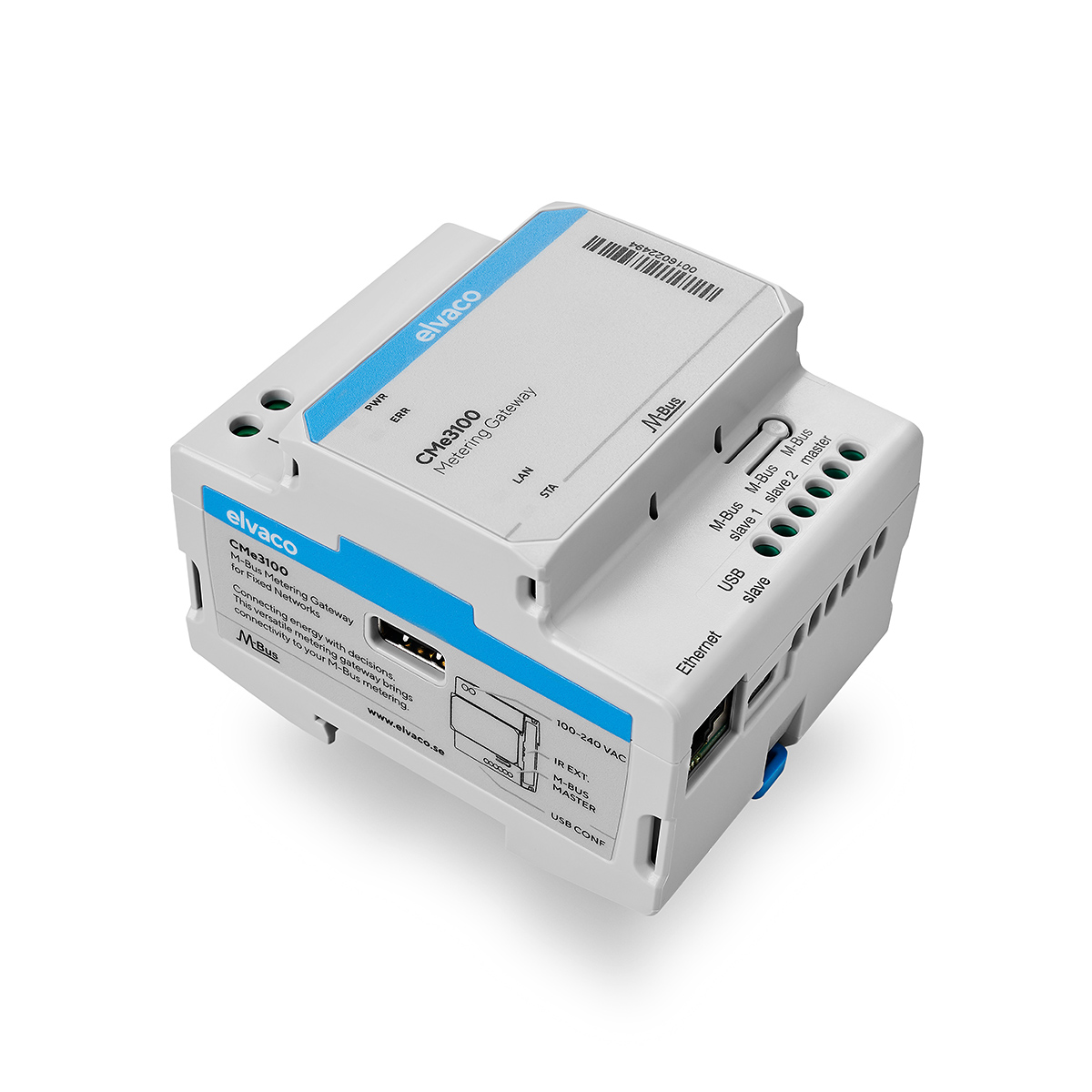 CMe3100 - M-Bus Metering Gateway for Fixed Network
