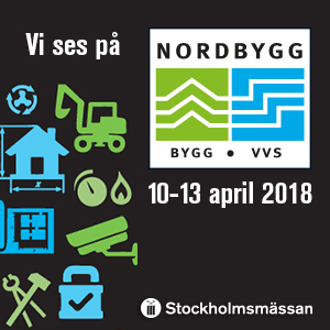 Elvaco exhibits at Nordbygg