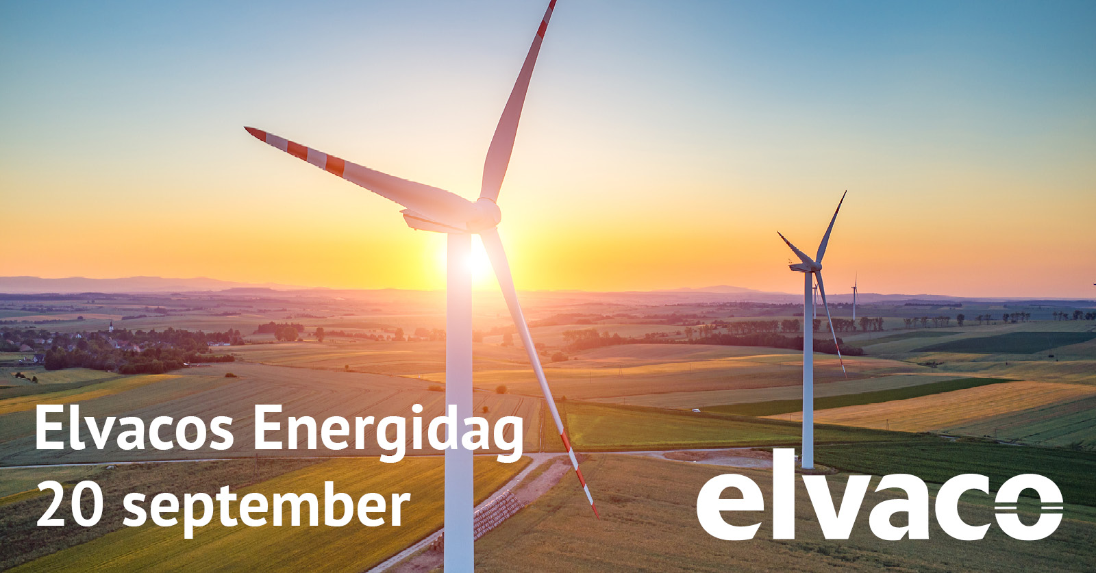 Welcome to Elvaco's Energy day on September 20!