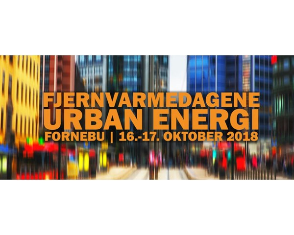 Meet us at the Norwegian District Heating Days