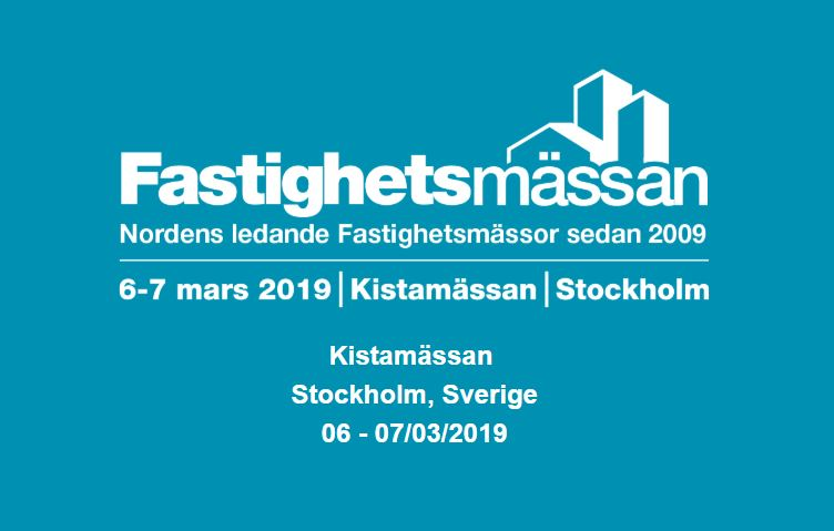 Elvaco is exhibiting at Fastighetsmässan in Stockholm March 6-7