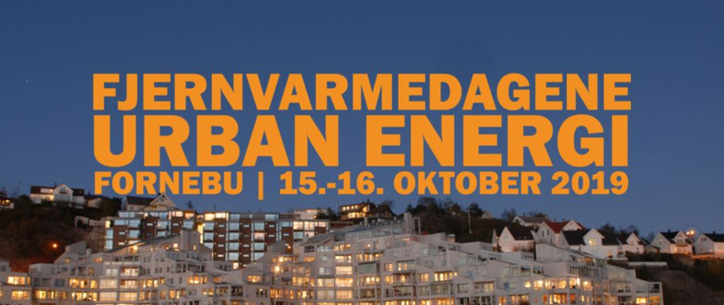 Come meet us at Fjernvarmedagene Urban Energi