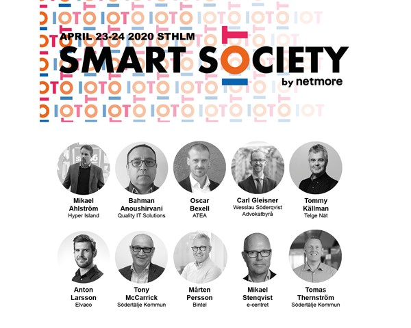 We are exhibiting at Smart Society in Stockholm on April 23-24