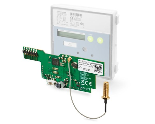 Elvaco launches NB-IoT module for heat meter