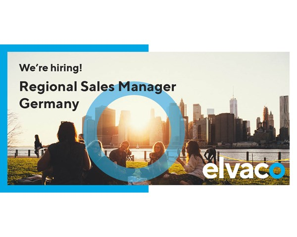 We are hiring a Regional Sales Manager to Germany