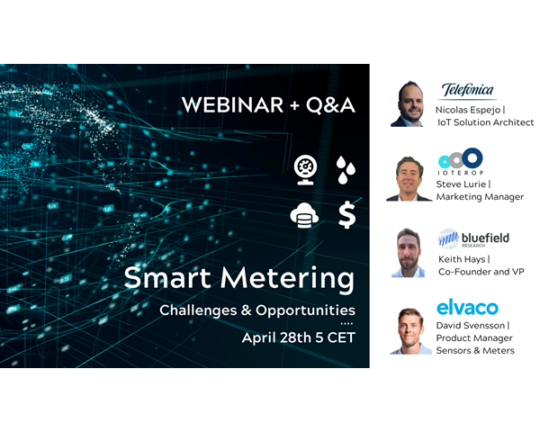Elvaco is one of the speakers at Ioterop's webinar on Smart Metering