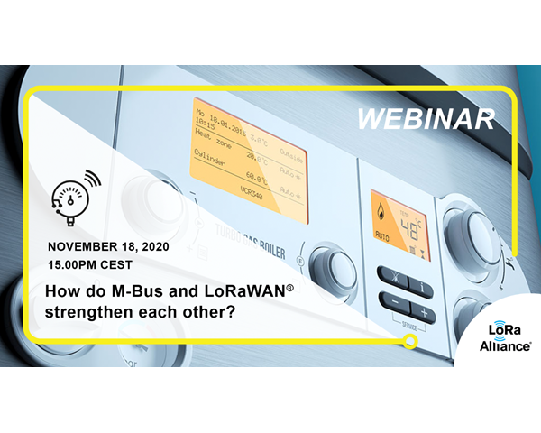 Elvaco speaks at a LoRa Alliance webinar