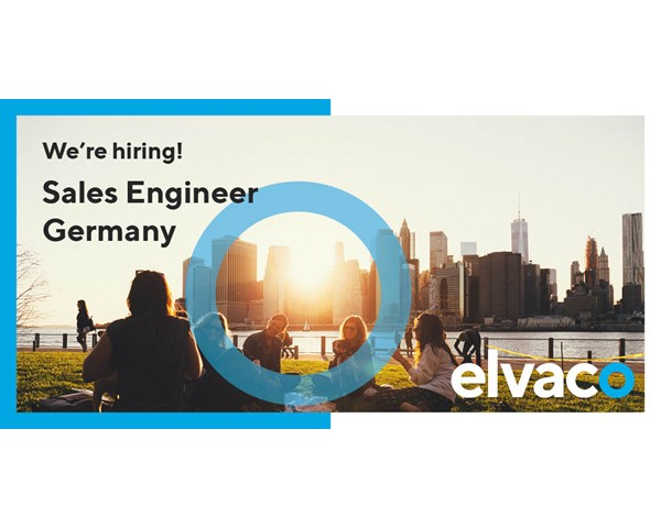 We are hiring a Sales Engineer to Germany